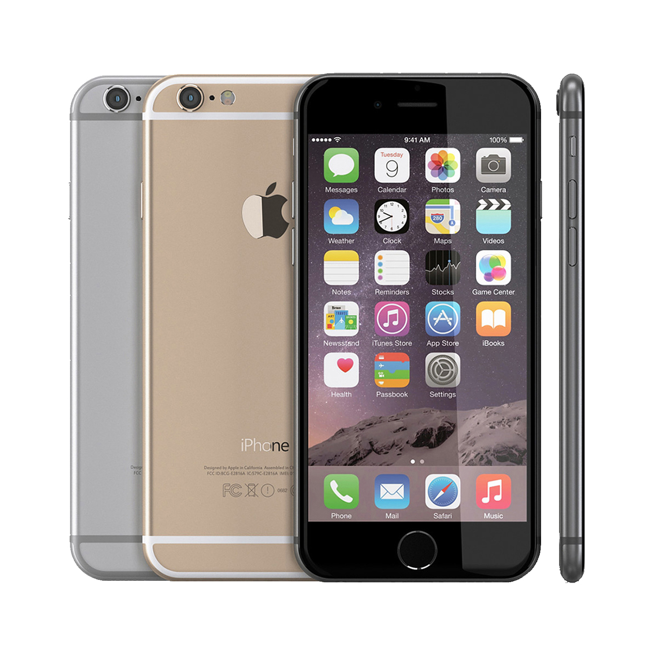 apple iphone 6 a1586 16 64 128gb silver gold space grey. Black Bedroom Furniture Sets. Home Design Ideas